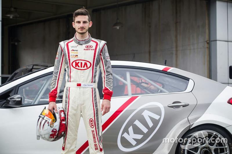 Alex Fontana, Kia K3, Kia Racing Team