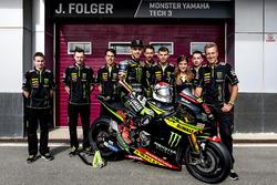 Jonas Folger, Monster Yamaha Tech 3 con el equipo