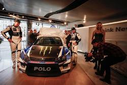 Petter Solberg en Johan Kristoffersson, PSRX Volkswagen Sweden, VW Polo GTi