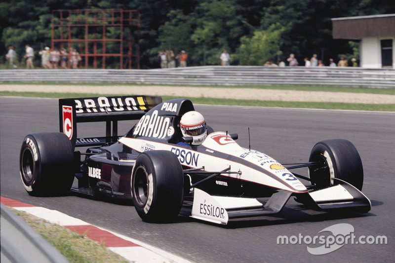 Сатору Накаджима, Tyrrell 020 Honda