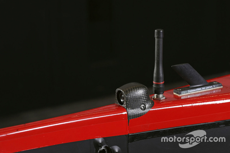 #8 Audi Sport Team Joest Audi R18 detalle de la cámara