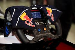 Harrison Newey gloves and steering wheel