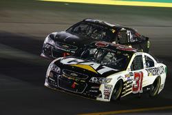 Ryan Newman, Richard Childress Racing Chevrolet, Cole Whitt, TriStar Motorsports Chevrolet