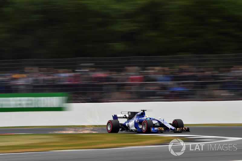 Marcus Ericsson, Sauber C36 chispas