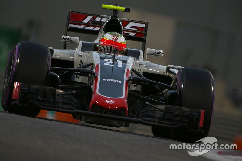 12. Esteban Gutierrez, Haas F1 Team VF-16