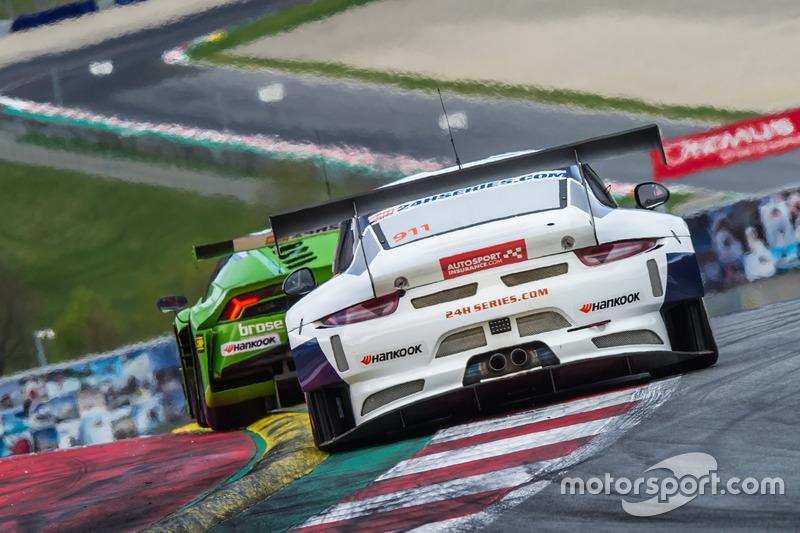 #911 Herberth Motorsport, Porsche 991 GT3 R: Daniel Allemann, Robert Renauer, Alfred Renauer