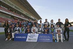 Gruppenfoto: Fahrer der Rallycross-WM 2017