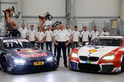 BMW M4 DTM, Нико Менцель, Дирк Адорф, Марко Виттман, BMW Team RMG, Антониу Феликс да Кошта, Том Бломквист, BMW Team RBM, Максим Мартен, BMW Team RBM, директор BMW Motorsport Йенс Марквардт, Мартин Томчик, Бруно Спенглер, BMW Team RBM, Аугусту Фарфус, BMW Team RMG, Тимо Шайдер, Тимо Глок, BMW Team RMG, BMW M6 GT3