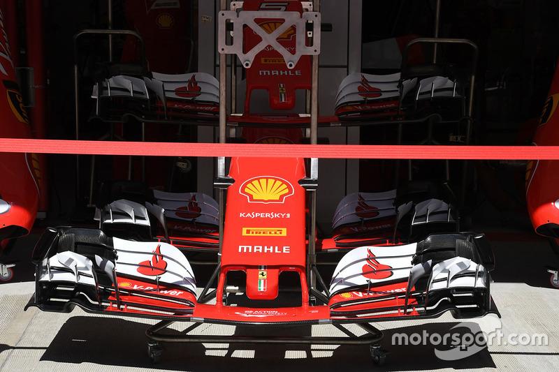 Ніс і переднє антикрило Ferrari SF70H