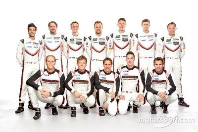 Porsche trabajo de pilotos 2017
