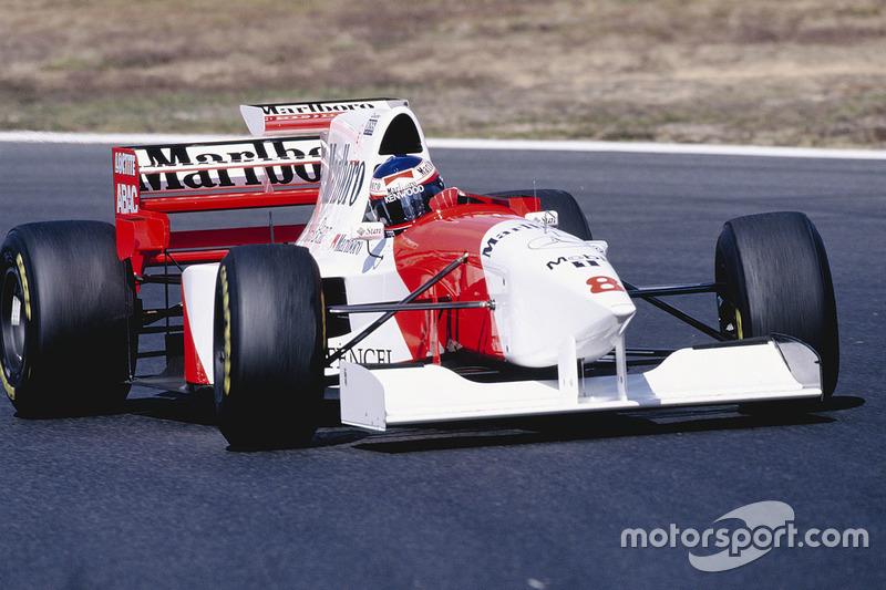 1995: McLaren MP4/10B Mercedes (два подиума, 4-е место в КК)
