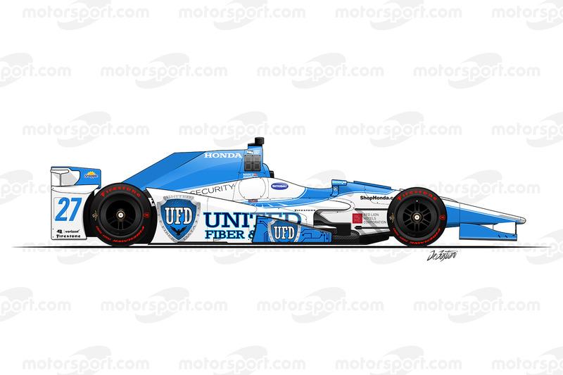 #27 - Marco Andretti, Andretti Autosport Honda