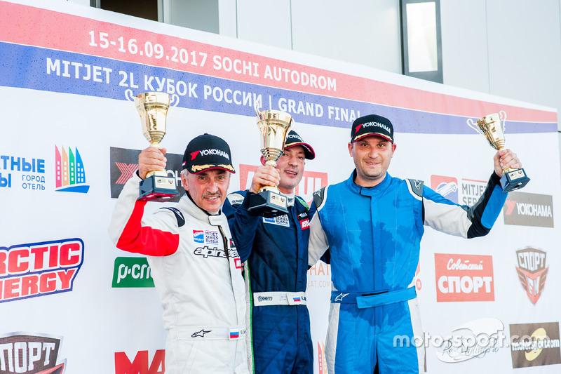 Призеры VI этапа Кубка России Mitjet