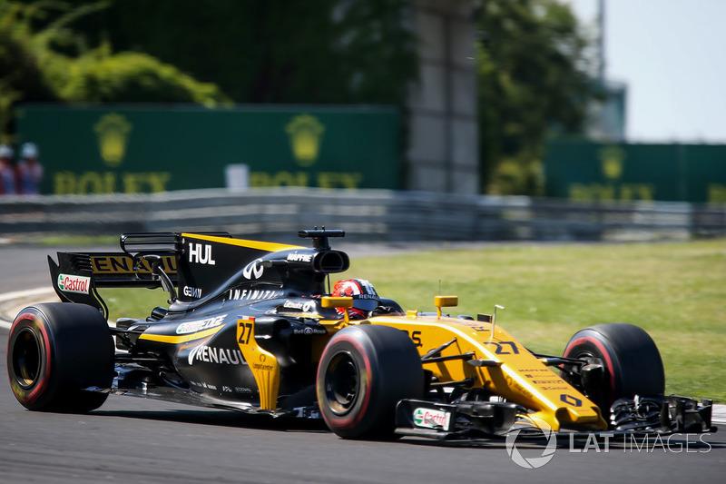 Nico Hulkenberg, Renault Sport F1 Team RS17