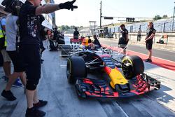 Max Verstappen, Red Bull Racing RB13, aero sensors