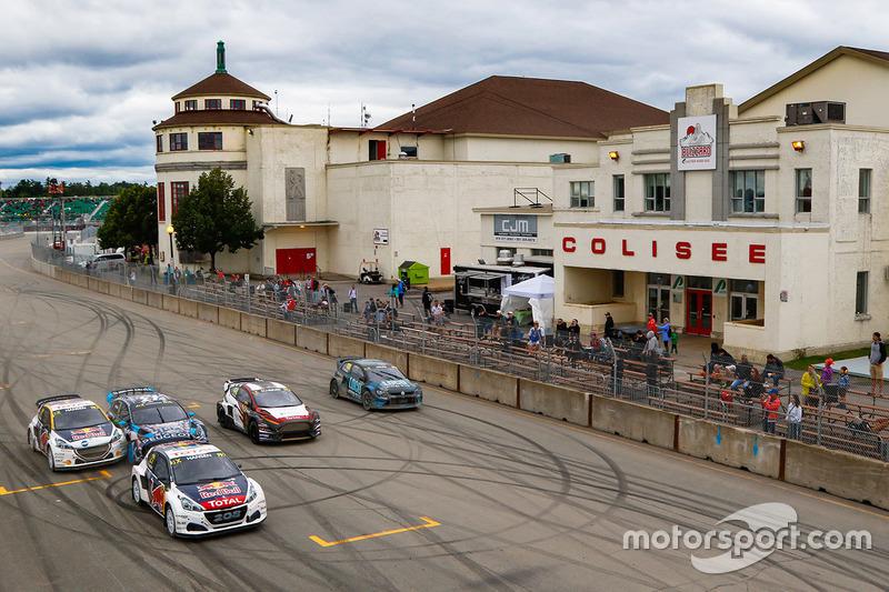 #7: Timmy Hansen, Team Peugeot Hansen