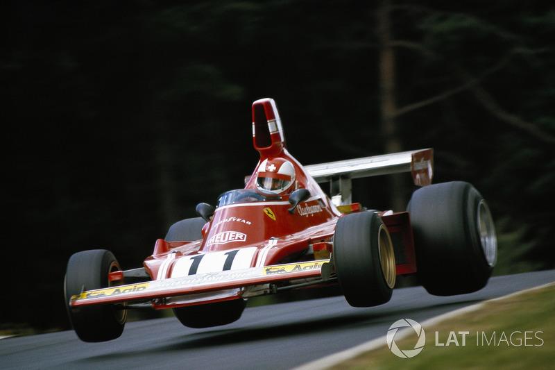 Пілот Ferrari Клей Регаццоні