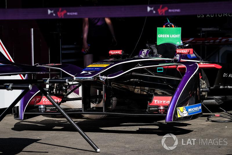 Coche de José María López, DS Virgin Racing