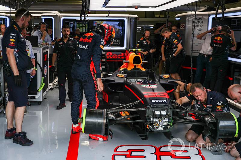 Шасі боліда Макса Ферстаппена, Red Bull Racing RB13