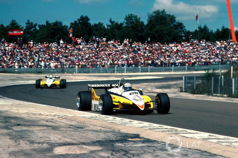#2: Alain Prost, Renault RE30B, Dijon 1982: 1:01,380