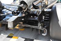 Mercedes AMG F1 W08, dettaglio posteriore