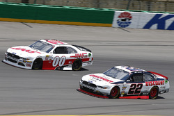 Cole Custer, Stewart-Haas Racing Ford, Joey Logano, Team Penske Ford