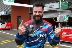 Le vainqueur Stefano Comini, Comtoyou Racing, Audi RS3 LMS