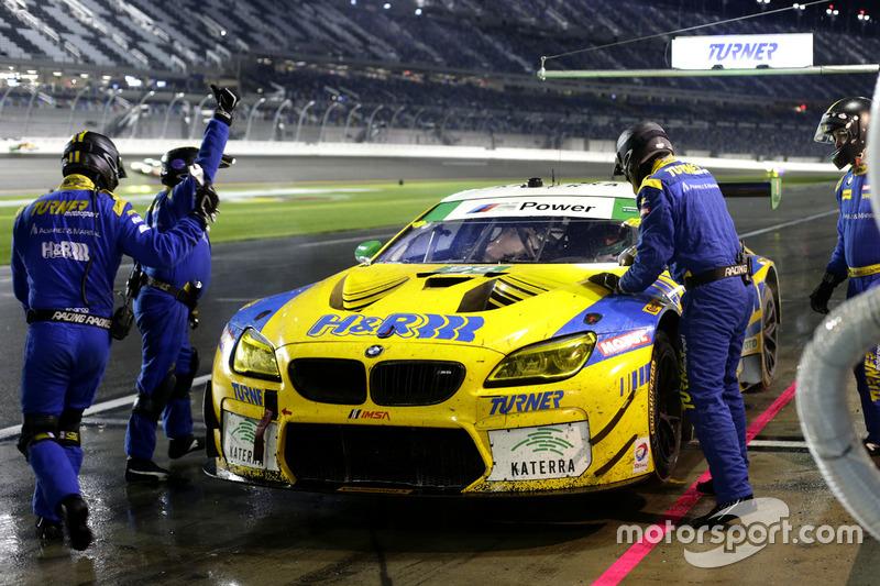 Pitstop , #96 Turner Motorsport BMW M6 GT3: Jens Klingmann, Justin Marks, Maxime Martin, Jesse Krohn
