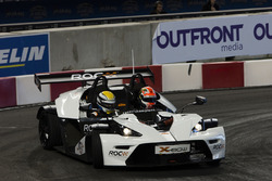 James Hinchcliffe driving the KTM X-Bow Comp R