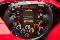 Ferrari F2001 direksiyon