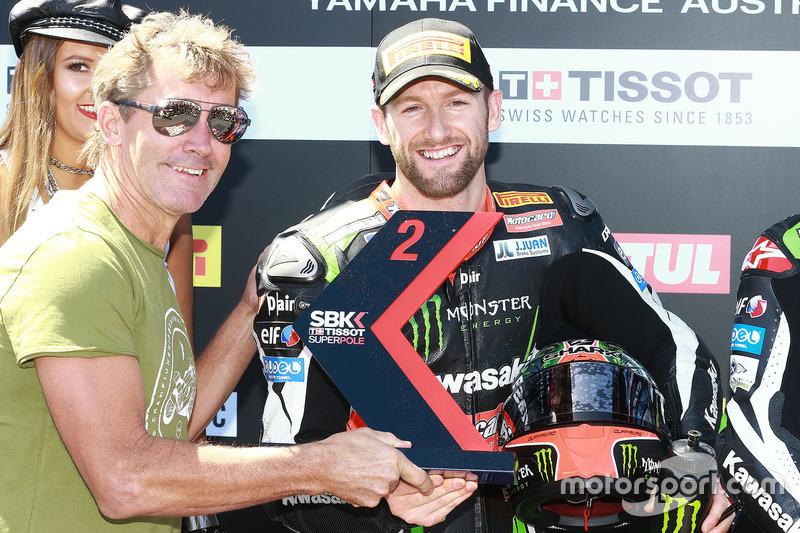Tom Sykes, Kawasaki Racing, mit Troy Bayliss