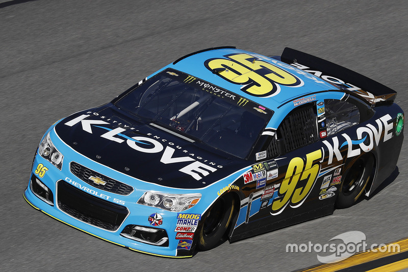 #95: Michael McDowell, Leavine Family Racing, Chevrolet