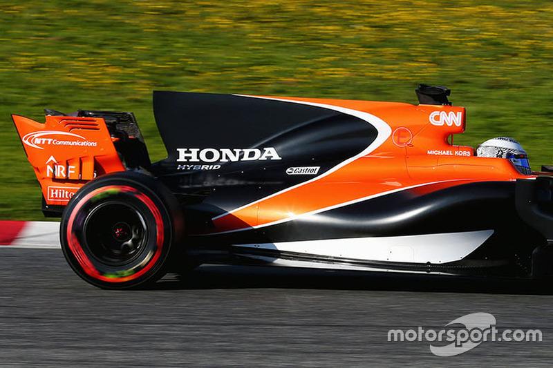 2017: Fernando Alonso, McLaren MCL32
