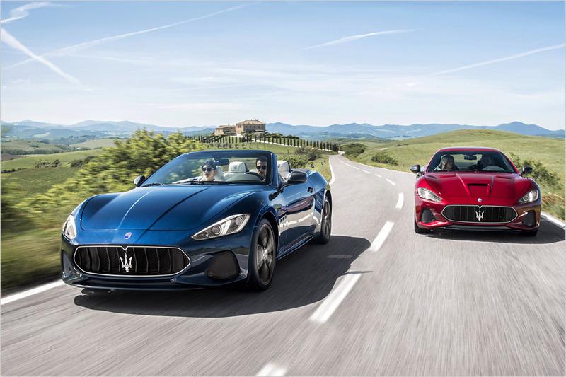 Maserati GranCabrio und Maserati GranTurismo