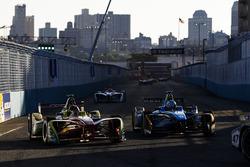 Daniel Abt, ABT Schaeffler Audi Sport, et Nicolas Prost, Renault e.Dams
