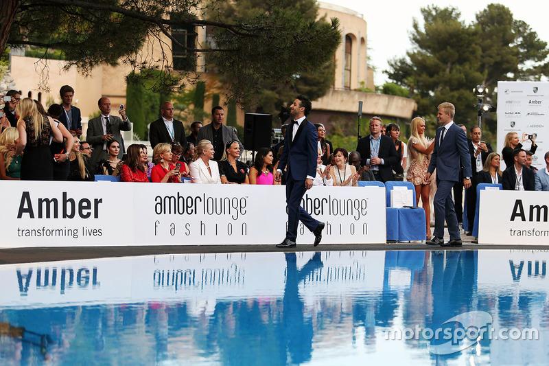 Daniel Ricciardo, Red Bull Racing en el Amber Lounge Fashion Show