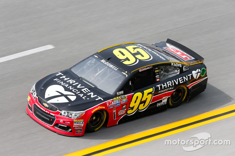 23. Michael McDowell, Circle Sport Leavine Family Racing, Chevrolet