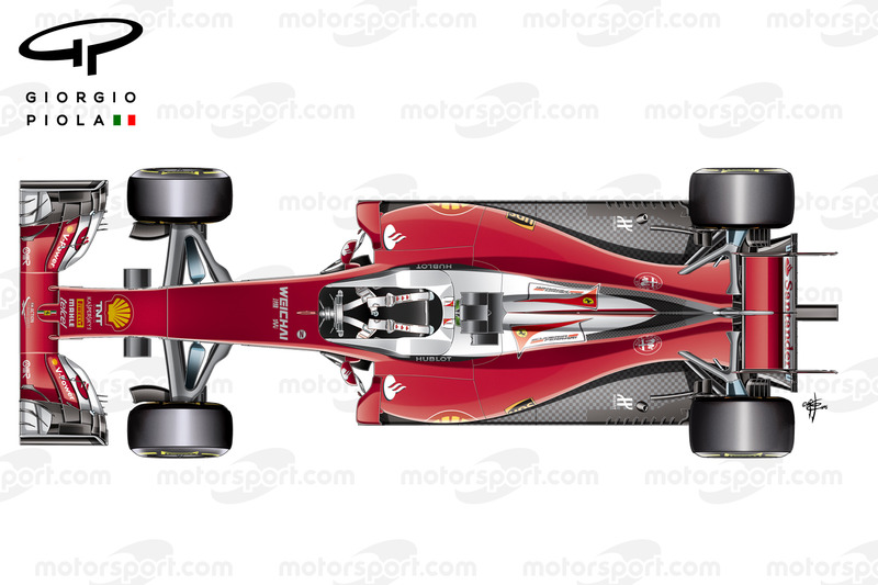 Ferrari Sf16h Vista Dall Alto on car engine drawing