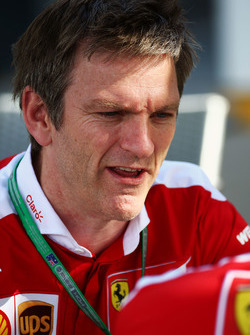 James Allison, technisch directeur chassi Ferrari