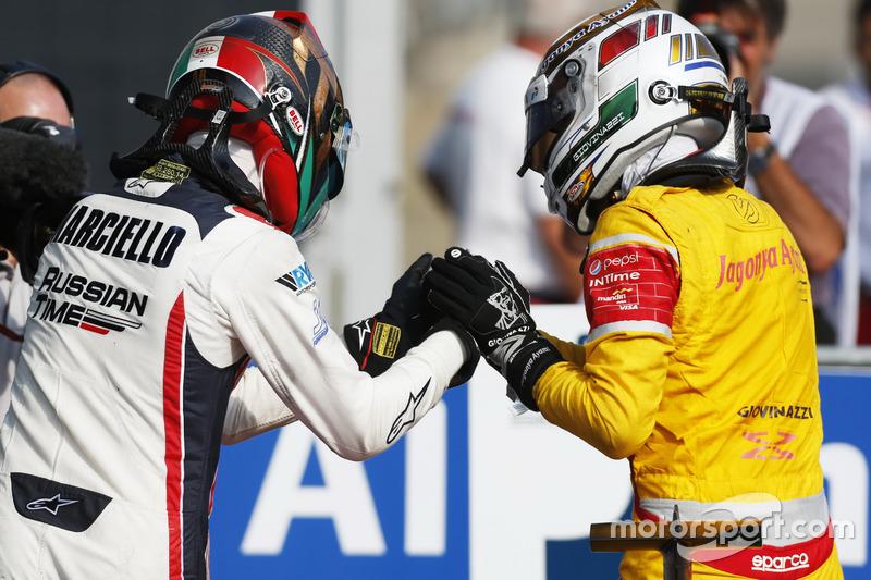 Antonio Giovinazzi, PREMA Racing ve Raffaele Marciello, RUSSIAN TIME