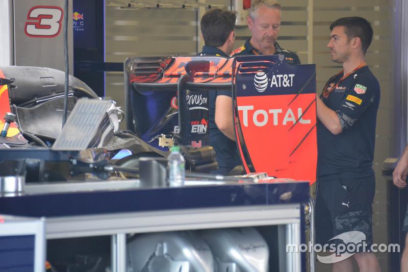 Detalle del Red Bull Racing RB12