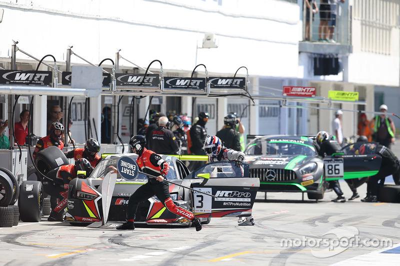 #3 Belgian Audi Club Team WRT Audi R8 LMS: Sergio Jimenez, Rodrigo Baptista