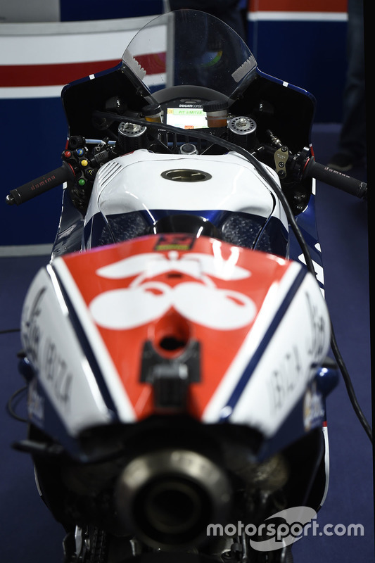 Bike of Mike Jones, Avintia Racing