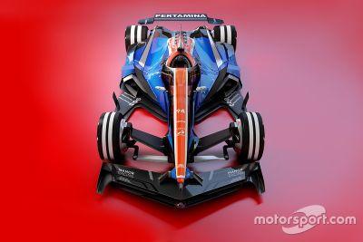 Diseño fantasy F1 2030