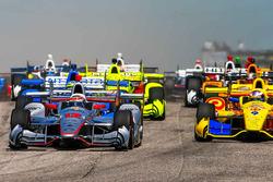 Start: Will Power, Team Penske Chevrolet memimpin