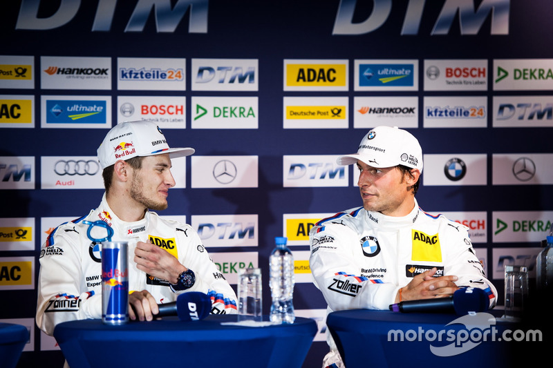 Conferenza stampa: Marco Wittmann, BMW Team RMG, BMW M4 DTM e Bruno Spengler, BMW Team MTEK, BMW M4 DTM