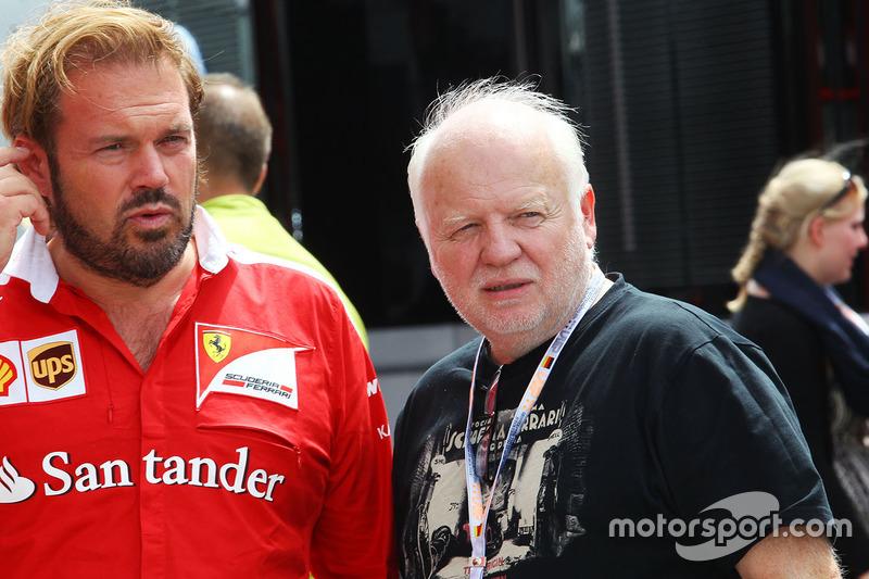 Gino Rosato, Ferrari with Norbert Vettel