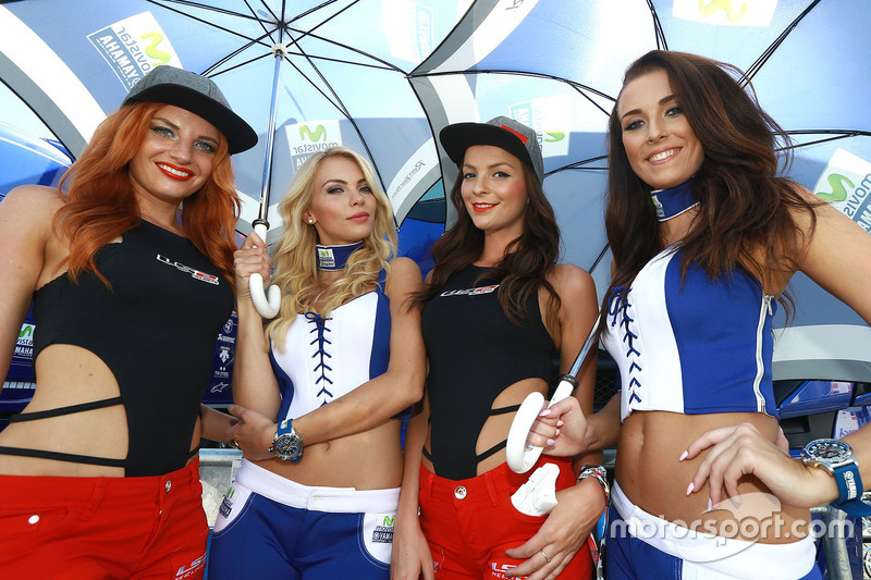 Lovely grid girls