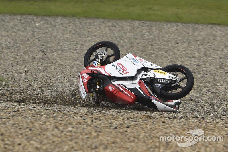 Incidente di Khairul Idham Pawi, Honda Team Asia
