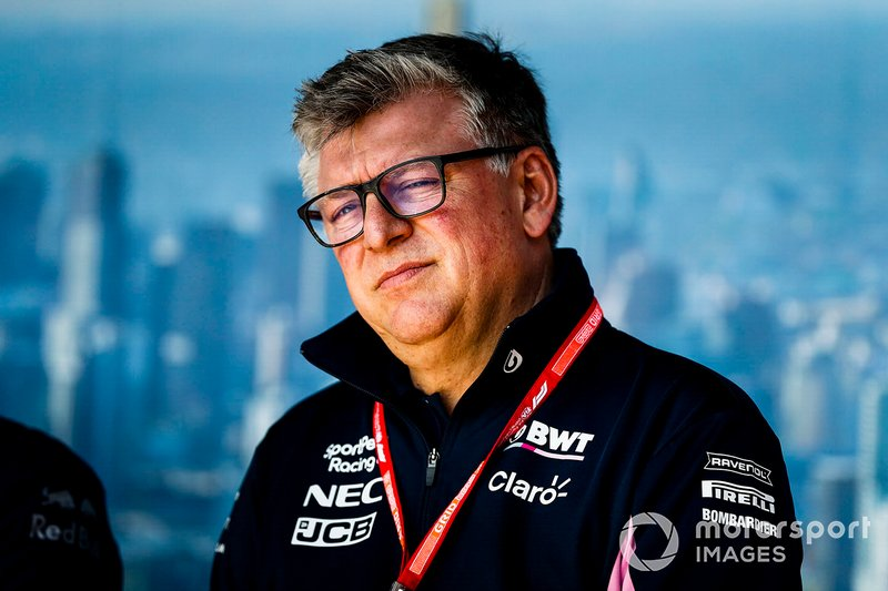 Otmar Szafnauer, directeur de Racing Point